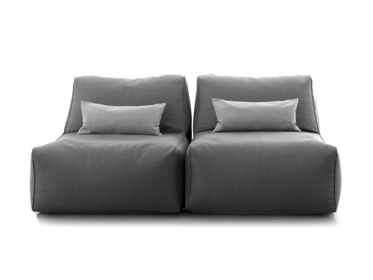 Deinachimde In Shape Sofa Element Flach Grau Von Sitting Bull