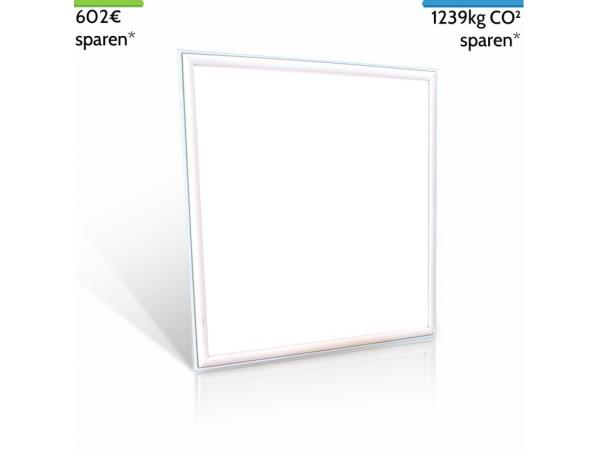 LED Panel 60cm x 60cm UGR<19 PROMOTHEUS 45W, 3200lm, neutralweiß 4500K, ersetzt 150W von Apollo LED